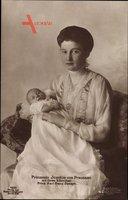 Prinzessin Marie Auguste von Anhalt, Prinz Karl Franz Joseph