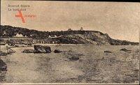 Odessa Ukraine, Le bord doré, Küste, Strand, Turm