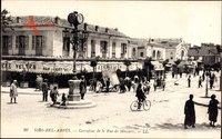 Sidi bel Abbès Algerien, Carrefour de la Rue de Mascara, Kreuzung