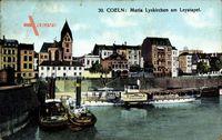 Köln am Rhein, Maria Lyskirchen am Leystapel, Salondampfer Fürst Bismarck