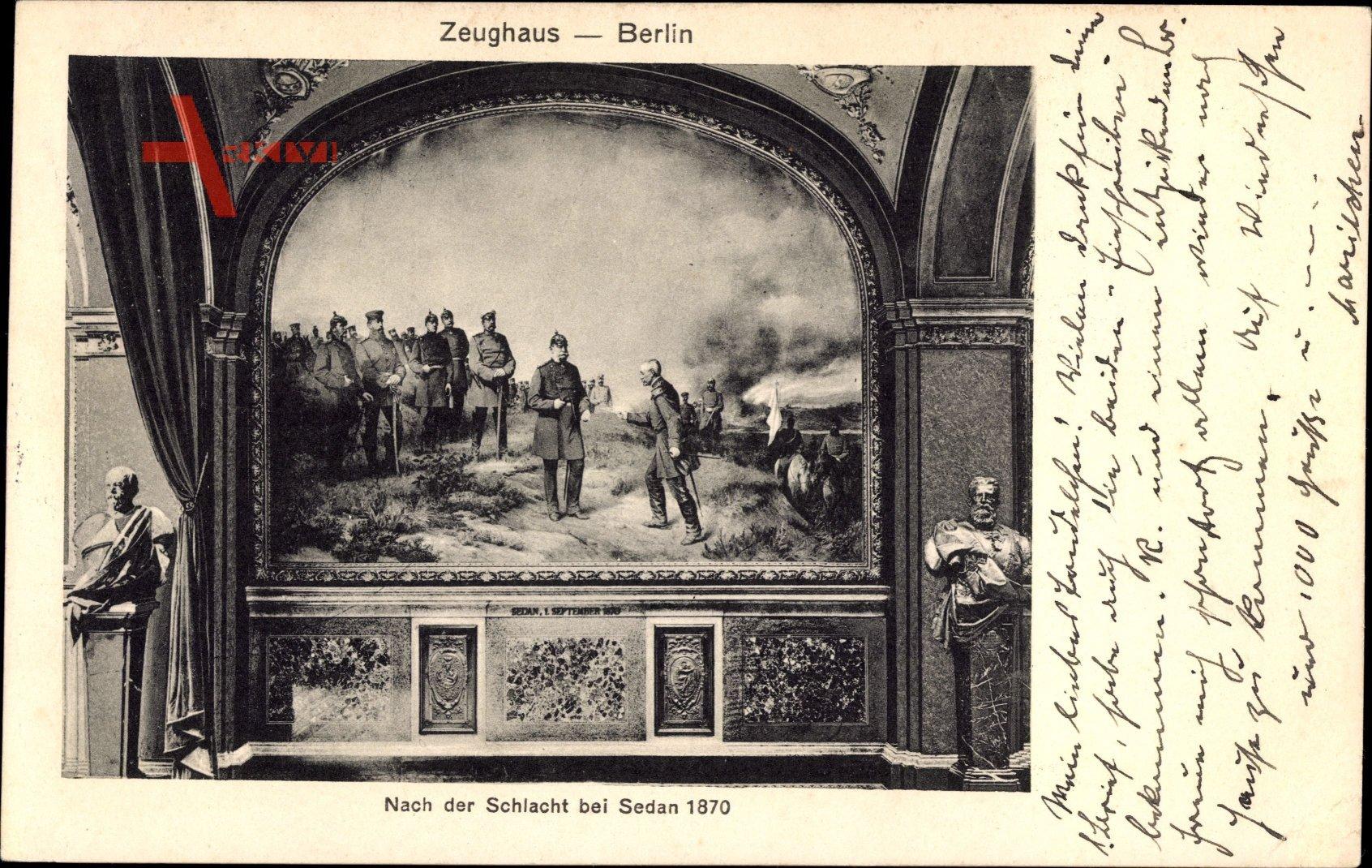 Berlin, Gemälde im Zeughaus, Nach der Schlacht bei Sedan 1870