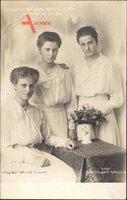 Prinzessinnen Margarete, Maria Alix und Anne von Sachsen