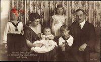 Herzog Ernst August von Braunschweig Lüneburg, Victoria Luise, Kinder