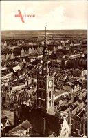 Gdańsk Danzig, Blick von der St. Marienkirche, Turmuhr