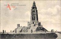Apenrade Dänemark, Knivsberg, Bismarck Nationaldenkmal