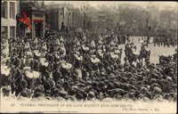 London, Funeral Procession, King Edward VII., Horse Guards