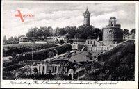 Brandenburg Havel, Marienberg, Bismarckwarte, Kriegerdenkmal, Parkanlagen