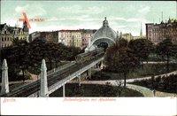 Berlin Schöneberg, Nollendorfplatz, Hochbahn, U-Bahn, Parkanlage