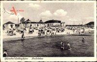 Kellenhusen, Ostseebad, Strandleben, Badeleben, Meer, Besucher, Strandkörbe