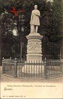 Berlin Tiergarten, König Friedrich Wilhelm III. Denkmal