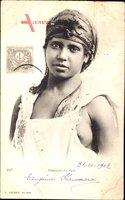 Bedouine du Sud, Junge Frau mit entblöster Brust, Geiser 247