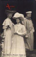 Kaiser Wilhelm II., Kaiserin Auguste Viktoria, Victoria Luise
