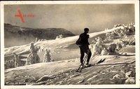 Winter im Schwarzwald um 1931, Wintersport, Skifahrer, Schnee