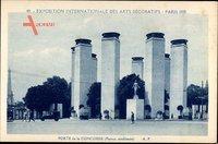 Paris, Expo, Weltausstellung 1925, Porte de la Concorde