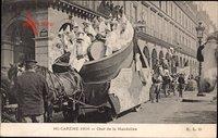 Angers Maine et Loire, Mi Carême 1906, Char de la Mandoline