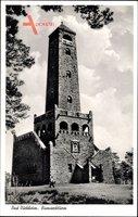 Bad Dürkheim am Pfälzerwald, Blick auf den Bismarckturm