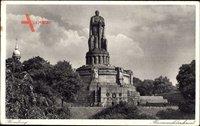 Hamburg St. Pauli, Blick auf das Bismarckdenkmal