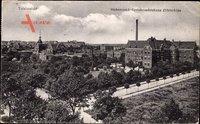Berlin Steglitz Lichterfelde, Stubenrauch Kreiskrankenhaus, Straße, Totale