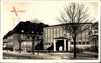 Berlin Zehlendorf Dahlem, Harnach Haus, Straßenpartie