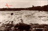 Piracicaba Brasilien, Wassermassen im Fluss, Strömung