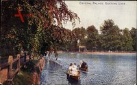 London City, Crystal Palace, Boating Lake, Ruderboote