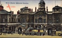 London City, Horse Guards, Whitehall, Wachposten