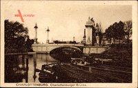 Berlin Charlottenburg, Charlottenburger Brücke mit Säulen
