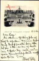 Berlin Tiergarten, Reichstagsgebäude v.d. Siegessäule