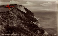Insel Hiddensee in der Ostsee, Der Dornbusch, Blick auf die Küste