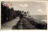 Koserow an der Ostsee, Strandpromenade mit Seeblick