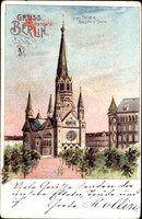 Berlin Charlottenburg, Blick auf die Kaiser Wilhelm Gedächtnis Kirche