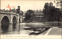 Richmond London, The Bridge and Bridge Tea House, Brücke