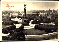 Berlin Tiergarten, Blick auf den Königsplatz mit Siegessäule