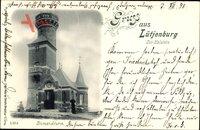 Lütjenburg in Schleswig Holstein, Ansicht vom Bismarckturm