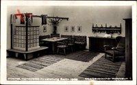 Berlin, Handwerksausstellung 1938, Oberbayerischer Wohnraum