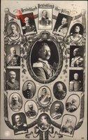 Kaiser Wilhelm II., Großherzog Ernst Ludwig, Karl Eduard, NPG 4626