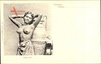 Colombo Ceylon Sri Lanka, Rodiya Girl, Junges Mädchen, Barbusig