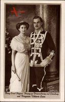 Herzog Ernst August von Braunschweig Lüneburg, Viktoria Luise, NPG 4567