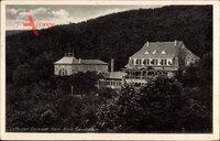 Gernrode im Harz, Blick auf das Klinik Sanatorium am Wald