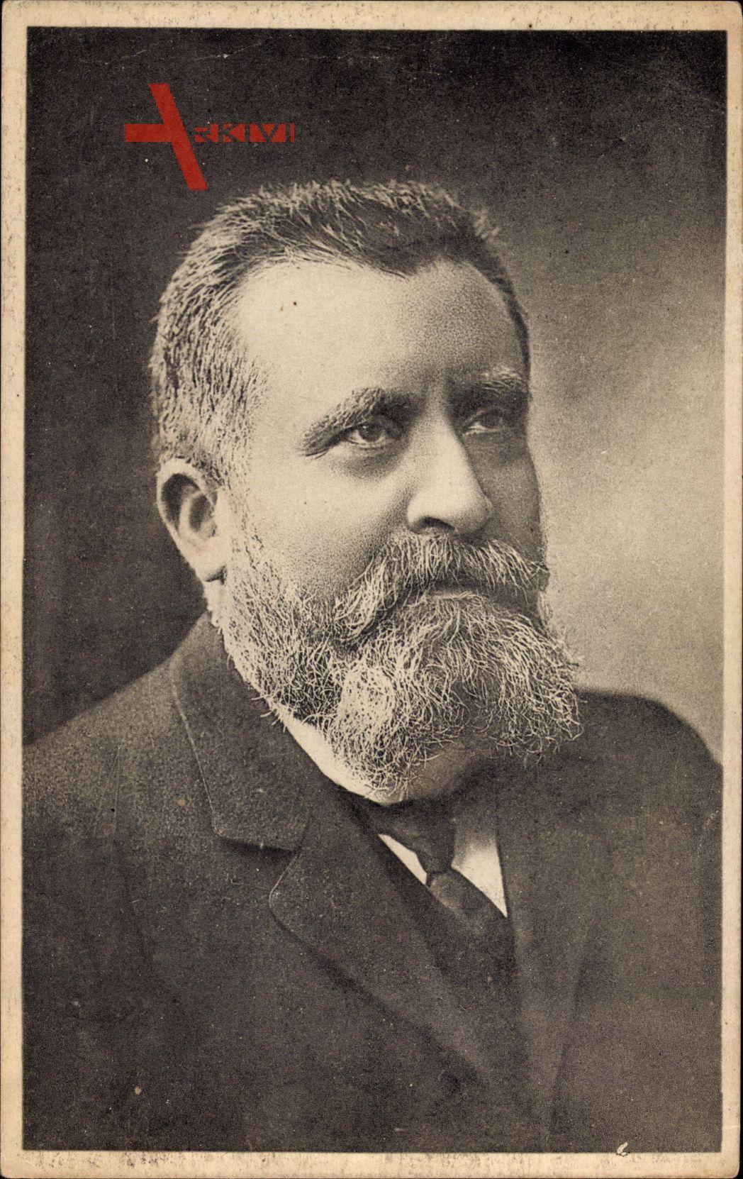 Jean Jaurès, französischer sozialistischer Politiker und Historiker, Portrait
