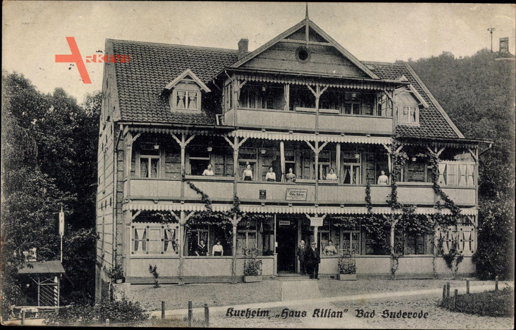 Bad Suderode im Harz, Das Kurheim Haus Kilian mit Personal