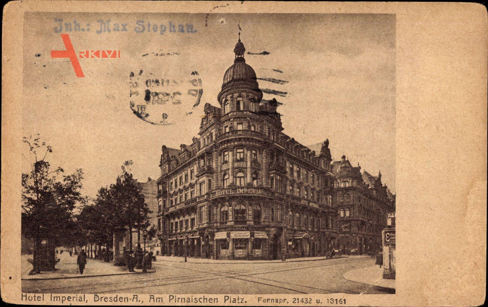 Dresden altstadt hotel imperial am pirnaischen platz for Dresden altstadt hotel