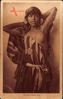 Maghreb, Beauté Bédouine, Junges Mädchen, Barbusig, Nomadin
