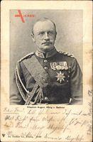 König Friedrich August III. von Sachsen, Portrait, Uniform