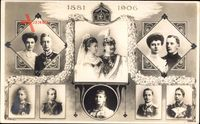 Kaiser Wilhelm II., Kaiserin, Jubiläum 1906, Prinzen