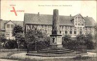 Uelzen in Niedersachsen, Denkmal Freiherr Christian von Hammerstein