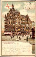 Dresden Zentrum Altstadt, Restaurant Kaiser Palast, Inhaber Otto Schwarfe