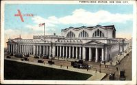 New York City USA, Pennsylvania Station, Bahnhof
