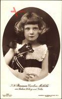 Prinzessin Caroline Mathilde von Sachsen Coburg Gotha, Spielzeug