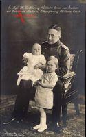 Großherzog Wilhelm Ernst von Sachsen Weimar Eisenach, Sophie und Prinz